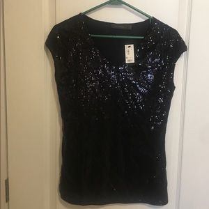 NWT The Limited blouse size small black